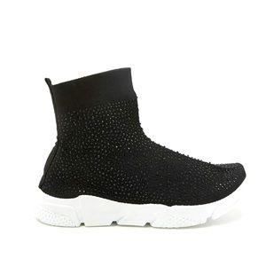 Rhinestone High Sneaker